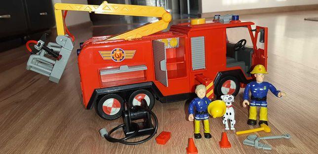 Strażak Sam wóz Jupiter figurki pies Radar ! Światło dźwięk