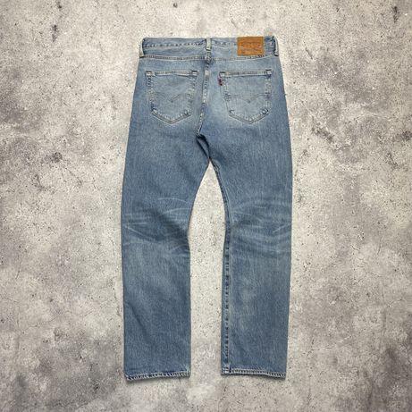 Светлые голубые мужские джинсы Levis 501 W 33 L 30 evisu carhartt