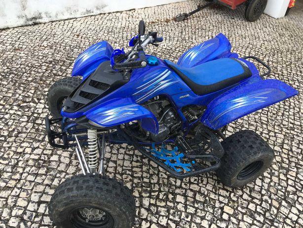 yamaha yfm 660r raptor moto 4