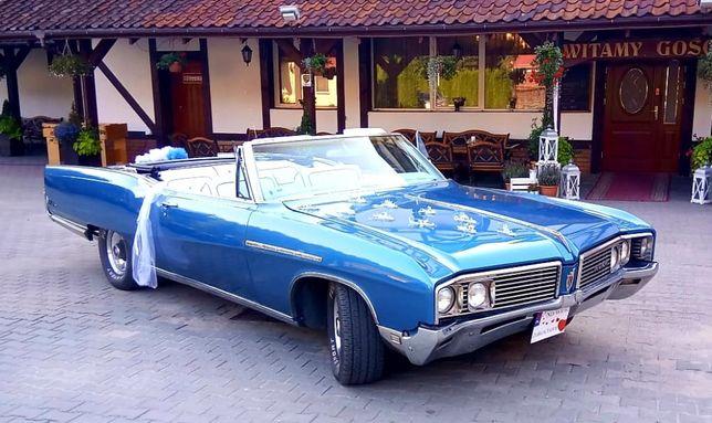 Auto do ślubu Buick Electra kabriolet samochód 6 miejsc zabytek
