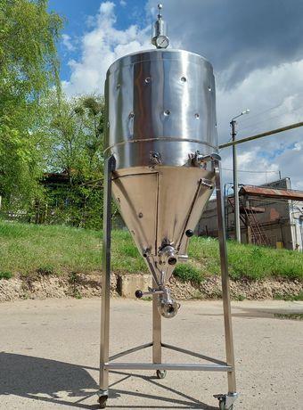 ЦКТ. Цилиндро-конический танк. Бродильная емкость для пива