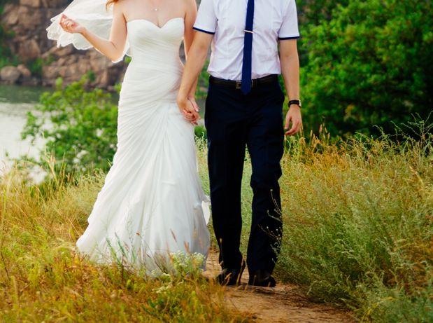 Очень нежное свадебное платье в отличном состоянии