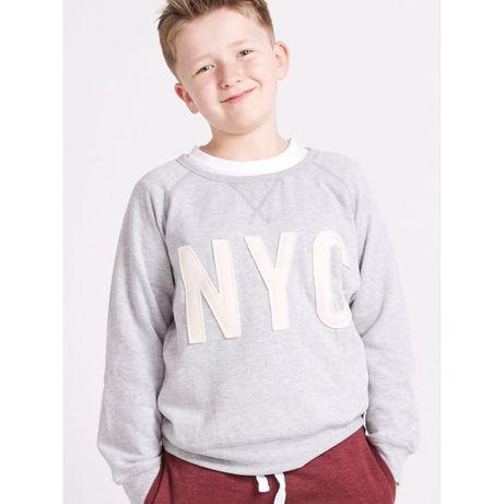 Свитшот NYC Riot Club на мальчика 8-9 лет