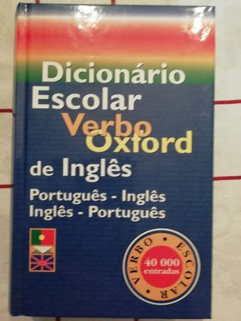 Dicionário Escolar Verbo Oxford de Inglês