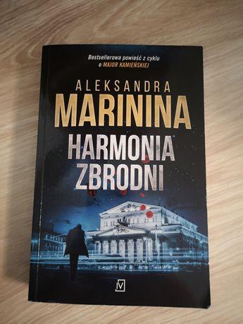 Książka Harmonia Zbrodni Aleksandra Marinina