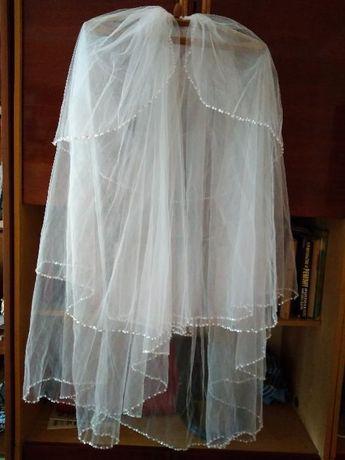 Продам новую свадебную фату, ожерелье недорого!!!