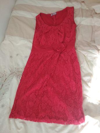 Sprzedam czerwoną sukienkę na wesele