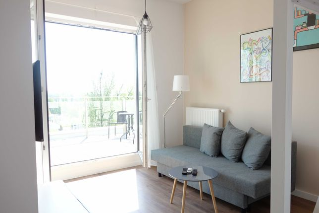 OKAZJA Zabłocie, apartament 30m2 z tarasem 40m2, Riverside, Podgórze