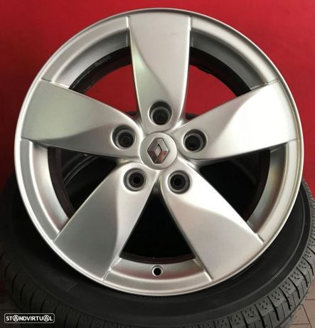 Jantes 16 Originais Renault Megane 3 usadas em bom estado com pneus usados