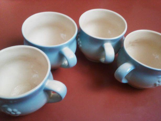 Чашки глиняные 4 шт.