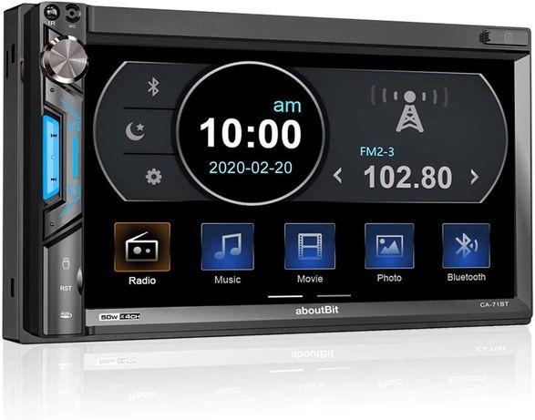 Auto rádio 2 DIM MP5 Bluetooth USB (( Novo ))