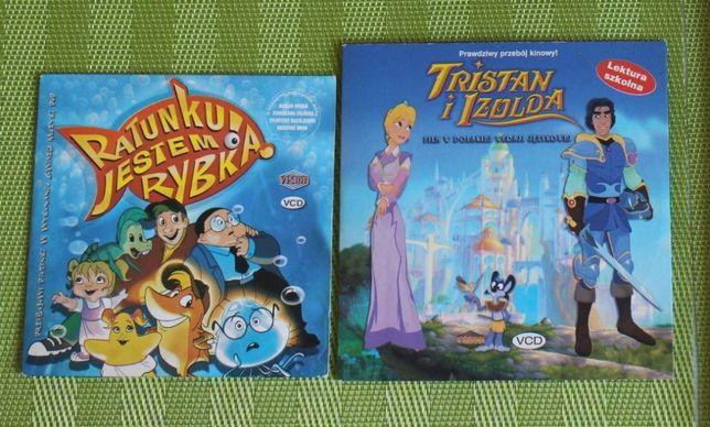 Płyty DVD dla dzieci - Tristan i Izolda, Ratunku jestem rybką