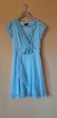 Sukienka, morski, niebieski, Asos