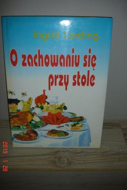 Książka Ingrid Cording O zachowaniu się przy stole