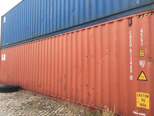 Contentores marítimos de 20' e 40' HC - Entregas em Portugal e Ilhas