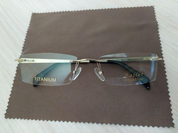 Новая! Мужская титановая фирм оправа, очки, окуляри