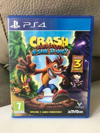 Jogo CRASH Bandicoot (3 games ) para PS4