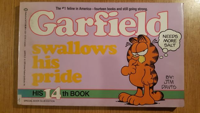 ,,Garfield swallows his pride ""