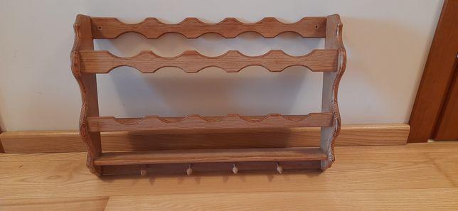Półka drewniana wisząca