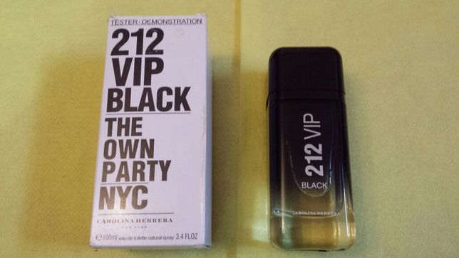 Carolina Herrera 212 VIP Black EDT 100 ml Tester