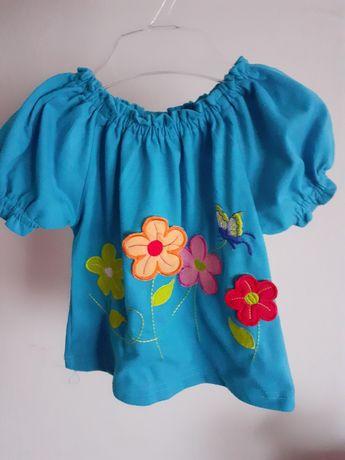 Bluzeczka hiszpanka dla dziewczynki