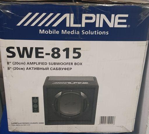 Subwoofer Alpine SWE-815