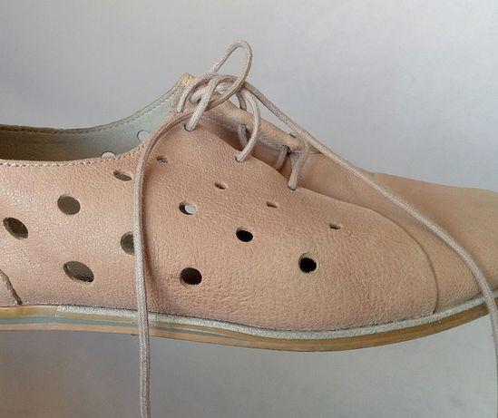 Туфли на шнурках Clarks. Кожа !!!
