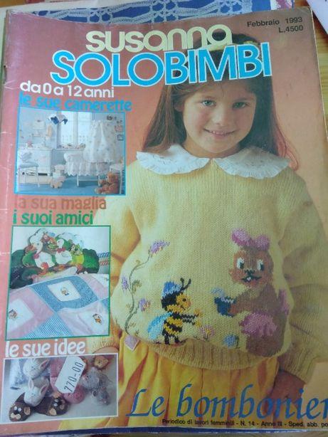 Revistas Susanna - Moda, Roupa, Malha, Crochet