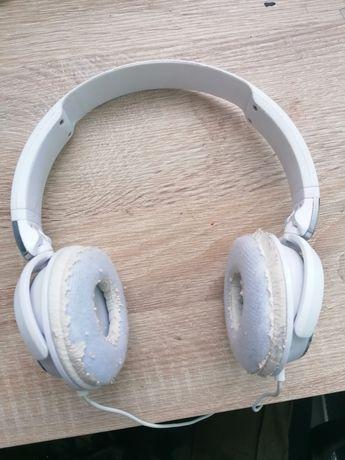 Słuchawki philips nauszne z kablem