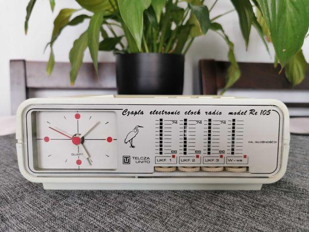 Unitra Telcza UNITO Radiobudzik Czapla Re 105 Nowy UKF*  Sprawny*