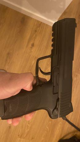 Wiatrówka pistolet hk