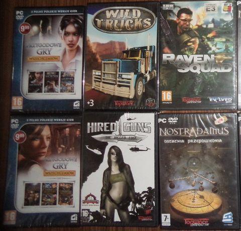 retro gry PC 6 szt, Nostradamus, CI games, TopWare, Hired Guns