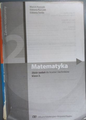 Matematyka zbiór zadań do liceów i techników kl. 2. z. rozsz.
