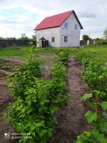 Новенький дом дача 114 м2 в селе Лутава, 75 км.от Киева, без комиссии!