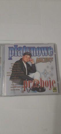 Akcent platynowe przeboje plyta CD