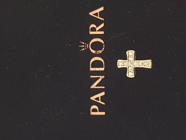 Złoty element charms na bransoletkę Pandora, Próba 585.Nowy(072)