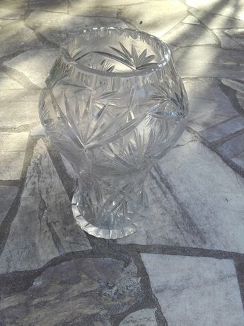 Wazon kryształowy kryształ