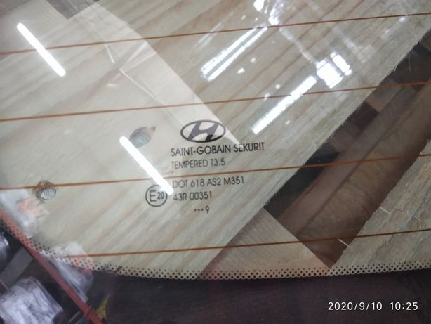 Szyba tylna Hyundai i30 hatchback 07-12