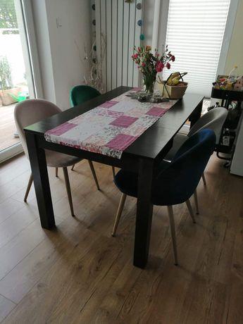 Stół rozkładany venge w dobrym stanie