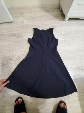 Платье тёмно синее
