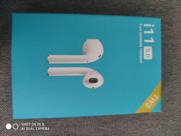 Słuchawki I11 bezprzewodowe