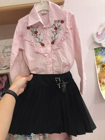 Комлект юбка рубашка