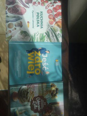 Trzy książki kucharskie