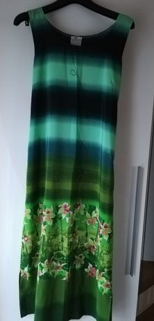 Sukienka letnia zielona