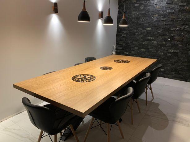 Stół DĘBOWY styl nowoczesny