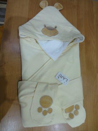 набор на выписку в роддом конверт одеяло легкое