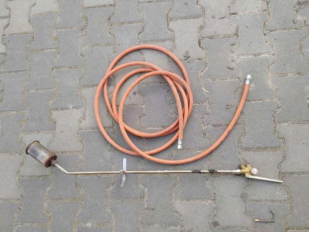 Palnik gazowy dekarski do papy wąż