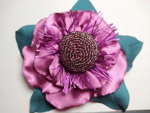 Цветок ручной работы