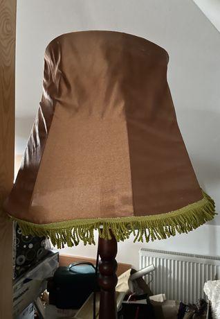 Lampa drewniana PRL