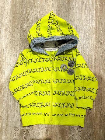 Bluza chłopięca z kapturem Coccodrillo 74